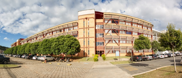The CCE department (Centro de Ciências Exatas e Tecnologicas) where I will be spending most of the time.