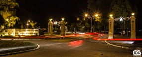 Even some traffic on a Sunday evening (when we shot these photos)