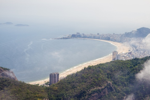 Copacabana in the far distance