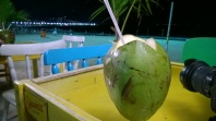 Coconut water by Copacabana beach