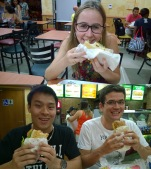Welcoming Subway to Viçosa! The first multinational fast-food chain here!