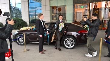 Wedding car. Carro de casamento.