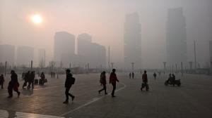 This is not fog, it's pollution. Poluição.