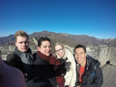 Selfie on the Great Wall.