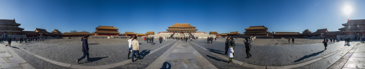 360-panorama of Forbidden City: https://photosynth.net/view.aspx?cid=d34aafd8-7ea5-43ad-bd0e-9ce1b5fb5903