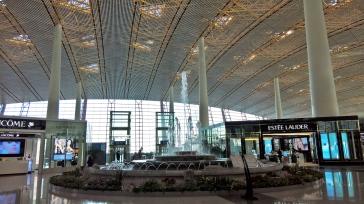 Beijing Airport. Aeroporto de Pequim.
