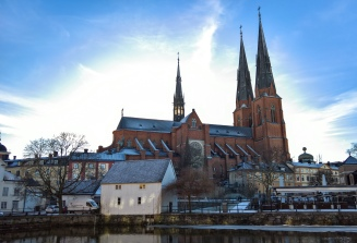 Uppsala Cathedral.