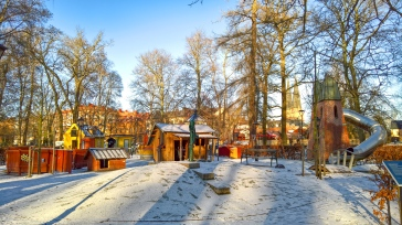 The Pelle Svanslös playground (Peter-No-Tail, a cherished children's character/books created by Gösta Knutsson)