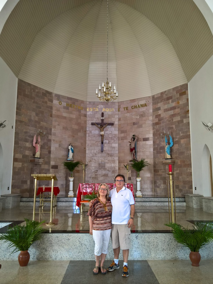 Checked out a catholic church in Florestal