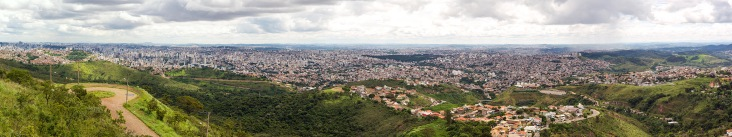 Panorama over Belo Horizonte