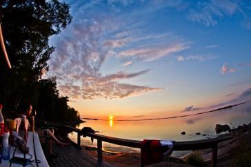 Beautiful, Finnish archipelago at summer.